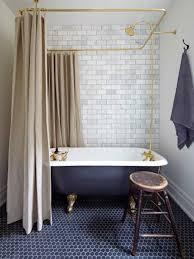 Clawfoot Tub Bathroom Designs Small Bathroom With Clawfoot Tub Featured Rainfall Shower Head And
