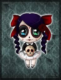 skull candy chibi by savanasart deviantart com on deviantart