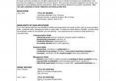 Sample Blank Resume by Download Blank Resume Template Haadyaooverbayresort Com