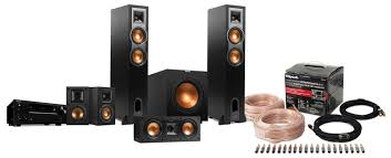 onkyo home theater system 5 1 klipsch onkyo 5 1 ch home theatre system package r26f r25c r14m