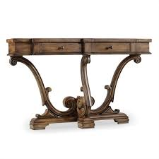 sanctuary 4 drawer console table hooker furniture sanctuary thin console in amber sands 3022 85001