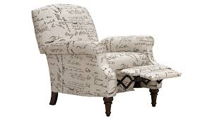 chloe script hi leg recliner gallery furniture