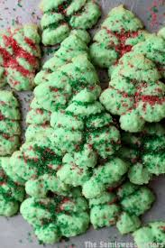 tree spritz cookies