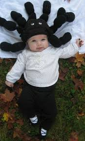 Spider Halloween Costume Baby Crooked House Homemade Spider Hat Halloween Costume