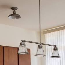 Design House Interiors Reviews Design House 519876 Kimball 1 Light Ceiling Mount Industrial Light