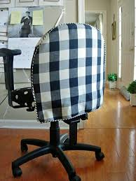 computer chair cover diy office chair makeover with fabric in my own style