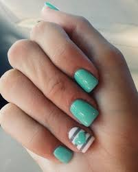 mint green nails n a i l s pinterest mint green nails