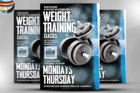 free fitness flyer templates profit u0026 loss statement template