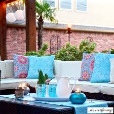 beautiful backyard ambiance its overflowing