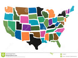 Usa Map Outline by Usa Map Puzzle Outline Royalty Free Stock Photography Image