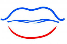how to draw how to draw lips for kids hellokids com