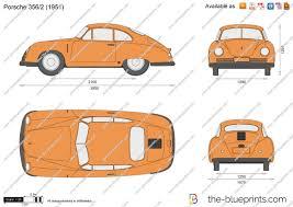 porsche cartoon drawing the blueprints com vector drawing porsche 356 2