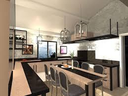 cuisine d architecte architecte d intérieur à st maximin décoration de villa