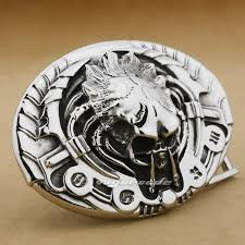 Handmade Belts And Buckles - heavy 316l stainless steel handmade avp predator mens belt