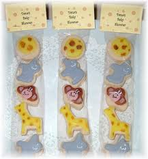 jungle baby shower favors yadkin valley cookies baby