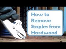 repairing floors how to remove nails and staples from