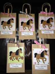 halloween party goodie bags horse birthday party goodie bags emma pinterest horse
