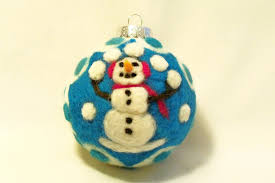 felted ornaments with gisela german american heritage
