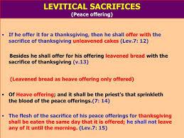 ppt l sacrifices