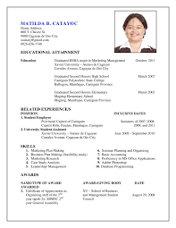 Sample Resume Objectives For Bsba by Who To Make A Resume Free Resume Example And Writing Download