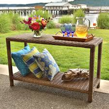 pottery barn patio furniture outdoor furniture console tables