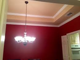 blood red paint dining room paint tips