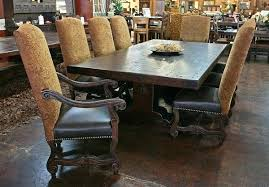 dining table rustic pine furniture chairs mexican dining room
