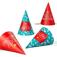 happy jackson party hats party supplies for older children