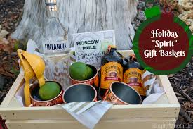 Tequila Gift Basket Holiday Spirit Gift Baskets