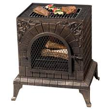 Chiminea With Pizza Oven Aztec Allure Pizza Oven U0026 Chiminea Fire Savage