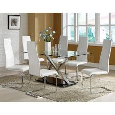 chrome dining room chairs chrome dining room chairs white dining room set contemporary white