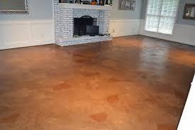 Laminate Flooring On Concrete Ruby Bloom Brown Paper Bag Floor Over Concrete Subfloor