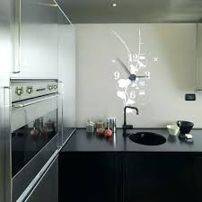 pendule moderne cuisine pendule de cuisine murale pendules de cuisine endommagac horloge