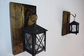 Mexican Sconces Rustic Candle Lantern Sconces Wall Decor Wall Sconce