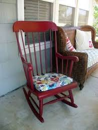 80 miles to brewster rocking chair makeover paint dipped diy