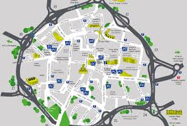 map uk coventry coventry city centre map of accessible disabled parking spaces