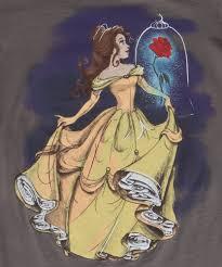Disney Clothes For Juniors Disney Illustrated Belle Juniors T Shirt