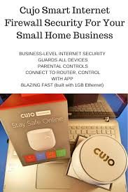 Home Internet by Cujo Security Smart Internet Firewall For Your Small Home Based