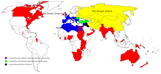 Map Of The Roman Empire The British Roman And Mongol Empire In One Map 1357x628 Mapporn