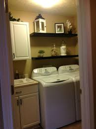 Lowes Laundry Room Storage Cabinets by This Is My Newly Updated Laundry Room Painted My Oak Cabinets
