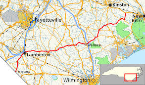 Map Of Wilmington Nc North Carolina Highway 41 Wikipedia