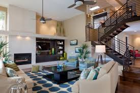 Ceiling Fans For High Ceilings by Flexsteel Chairs Family Room Tropical With Beadboard Ceiling