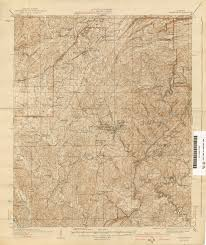 Alabama State Map by