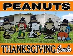 peanuts snoopy thanksgiving season decorations ebay