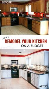 cheap kitchen reno ideas how to remodel your kitchen on a budget budgeting kitchens and house