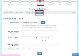 can i set a limit to my rsvp online event registration