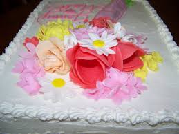 plumeria cake studio bridal shower bouquet cake