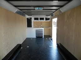 V Nose Enclosed Trailer Cabinets by Carmate 8 5 X 22 Enclosed Car Trailer Cabinets With Tool Trays