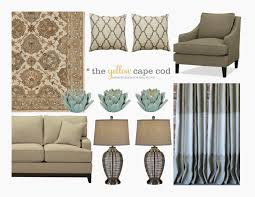 the yellow cape cod whole house design project linen gray and