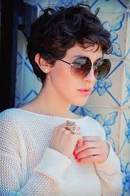short curly grey hairstyles 2015 30 stunning curly straight pixie haircuts for 2018 curly pixie